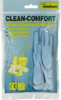 AMPRI-Latex-Haushalts-Arbeits-Handschuhe, baumwollgefüttert, lebensmittelgeeignet, VE = Pkg. á 12 Paar, blau