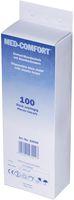 AMPRI-Einweg-Einmal-Mundschutz, MED COMFORT, 2-lagig aus Papier, mit Elastikbändern, VE = Pkg. á 100 Stück, weiß