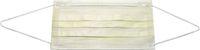 AMPRI-Einweg-Einmal-Mundschutz, ECO PLUS, Typ II, 3lagig, runde Elastikbänder, gelb, VE = Pkg. á 50 Stk.