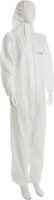 AMPRI-Einweg-Overall, Einmal-Schutz-Anzug mit Kapuze, MED COMFORT, Safe Protect 2, VE = 50 Stück, weiß