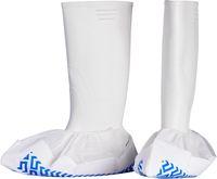 AMPRI-Einweg-Über-Schuhe, Einmal-Schuhe, PP-Vlies, MED COMFORT, PP Sohle, 40 x 20 cm, VE = Beutel á 50 Stk., weiß