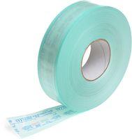AMPRI-Hygiene, Sterilisations-Schlauch, ohne Seitenfalte, für Dampf und Gas, 75 x 200 mm, VE = 8 Rollen