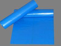 AMPRI-Abfall-Säcke-Müll-Beutel, Einweg-PE-Müllsäcke, 120 Liter, 34 my, Rolle á 25 Stück, blau