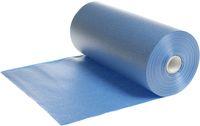 AMPRI-Hygiene, Einweg-Einmal-Patienten-Umhang, Tissue/PE, 50 x 60 cm, VE = 6 Rollen á 80 Stück, blau