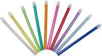 AMPRI-Hygiene, Einweg-Speichel-Sauger, abnehmbarer Filter, 13 cm lang, VE = 10 Beutel á 100 Stück, weiß