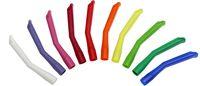 AMPRI-Hygiene, Einweg-Absaug-Kanülen,aus Kunststoff, 124 x 16 mm, VE = Pkg. á 10 Stück, weinrot