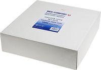 AMPRI-Hygiene, Nass-Krepp-Servietten, 38 x 34 cm, 23 g/m², VE = Pkg. á 1000 Stück, weiß