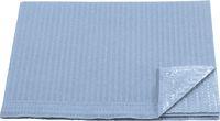 AMPRI-Hygiene, Einweg-Patientenservietten, 33 x 45 cm, Tissue/PE, VE = 500 Stück, hellblau