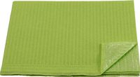 AMPRI-Hygiene, Einweg-Patienten-Servietten, 33 x 45 cm, Tissue/PE, VE = 500 Stück, limette