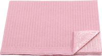AMPRI-Hygiene, Einweg-Patienten-Servietten, 33 x 45 cm, Tissue/PE, VE = 500 Stück, rosa