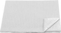 AMPRI-Hygiene, Einweg-Patienten-Servietten, 33 x 45 cm, Tissue/PE, VE = 500 Stück, weiß