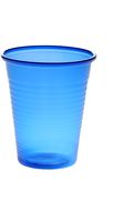 AMPRI-Hygiene, Mund-Spülbecher, ca. 180 ml, VE = 30 Beutel á 100 Stück, blau