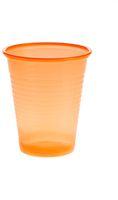 AMPRI-Hygiene, Mund-Spülbecher, ca. 180 ml, VE = 30 Beutel á 100 Stück, orange