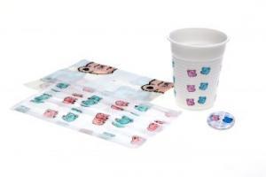 AMPRI-Hygiene, HAPPY-KIDS-SET, VE = 50 Sets, mit Bärchenaufdruck