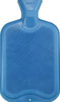 AMPRI-Hygiene, Wärmflasche mit Schraubverschluss, aus Gummi, 2 Liter, VE = 1 Stk/Beutel, blau