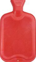 AMPRI-Hygiene, Wärmflasche mit Schraubverschluss, aus Gummi, 2 Liter, VE = 1 Stk/Beutel, rot