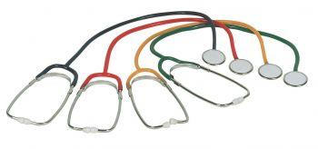 AMPRI-Hygiene, Schwestern-Stethoskope, MED COMFORT, VE = 100 x 1 Stück in der Box, rot