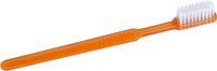 AMPRI-Hygiene, Einweg-Zahnbürsten mit Pasta, MED COMFORT, VE = Pkg. á 100 Stück, orange