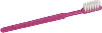 AMPRI-Einweg-Zahnbürsten mit Pasta, MED COMFORT, VE = Pkg. á 100 Stück, pink