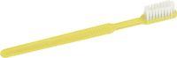 AMPRI-Hygiene, Einweg-Zahnbürsten mit Pasta, MED COMFORT, VE = Pkg. á 100 Stück, gelb