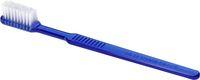 AMPRI-Hygiene, Einweg-Zahnbürsten ohne Pasta, MED COMFORT, VE = Pkg. á 100 Stück, blau