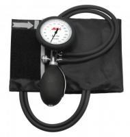 AMPRI-Hygiene, Aneroid-Blutdruck-Messgerät, MED COMFORT, mit 2 Schläuchen, VE = 50 Stück, schwarz