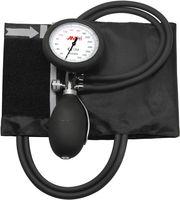AMPRI-Hygiene, Aneroid-Blutdruck-Messgerät, MED COMFORT, zwei Schlauch-System, hohe Qualität, VE = 1Stück/Box, schwarz