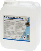 AMPRI-Safeline-Hand-/Hände-Desinfektion, Schnelldesinfektion, Lemon, Quick Des, VE = 1 Kanister, 10 Liter