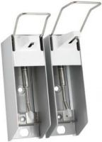 AMPRI-Zubehör, Edelstahlpumpe, zu Wandspender 500 ml KH, Ansaugrohr gekröpft, VE = 1 Stück