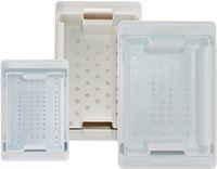 AMPRI-Hygiene, Desinfektions-Wanne, 3 Liter, Set mit Wanne, Sieb und Deckel, VE = 1 Stück