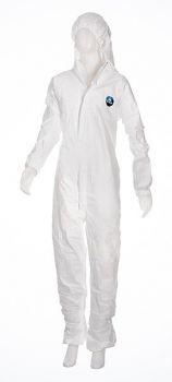 AMPRI-TYVEK-Einweg-Overall, Einmal-Schutz-Anzug mit Kapuze, Modell Classic, VE = 4 x 25 Stück