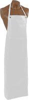 AMPRI-Einweg-Vinyl-Schürzen, Einmalschürzen, leicht und angenehm zu tragen, 90 x 140 cm, VE = 20 Stück, weiß