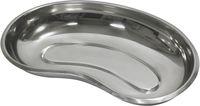 AMPRI-Hygiene, Nieren-Schale, ohne Deckel, Edelstahl, L250 x T40 mm, VE= 100 Stück