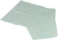 AMPRI-Einmal-Esslätzchen, zum Binden, mit Auffangtasche, 66 x 37 cm, weiß, VE = 4 Beutel á 125 Stück