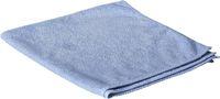 AMPRI-Clean Comfort-Mikrofasertuch, ca. 300g/m², 40 x 40 cm, Pkg á 25 Stück, VE= 10 Beutel á 25 Stück, blau