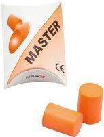 AMPRI-PSA-Gehörschutz, Ohrschutz -Stöpsel, Master, im Dispenserkarton, VE = Box á 250 Paar, 12 Boxen/Karton, orange