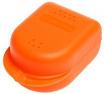 AMPRI-Hygiene, Zahn-Spangen-Box für Kinder, PP, VE= 14 Stück, Karton = 16 x 14 Stück, orange