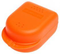 AMPRI-Hygiene, Zahn-Spangen-Box für Erwachsene, PP, VE= 10 Stück, Karton = 18 x 10 Stück, orange