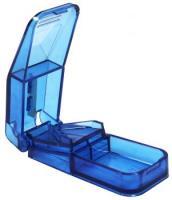AMPRI-Hygiene, Tabletten-Teller, zum Teilen von Tabeltte, VE = 100 Stück/Karton, blau