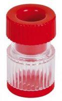AMPRI-Tabletten-Crusher, Safeline, zum zermahlten. VE = 100 Stück/Karton, rot