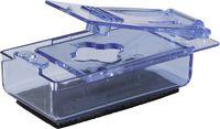 AMPRI-Hygiene, Pillendrücker, zum Auslösen von Tabletten, VE = 300 Stück/Karton, blau