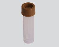 AMPRI-Hygiene, Stuhl-Proben-Gefäße mit Schraubverschluss, 30 ml, VE = 350 Stück, braun