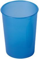 AMPRI-Hygiene, Einweg-Einmal-Schnabel-Becher, Unterteil, 250 ml, VE = 250 Stück, blau