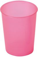 AMPRI-Hygiene, Einweg-Einmal-Schnabel-Becher, Unterteil, 250 ml, VE = 250 Stück, rot