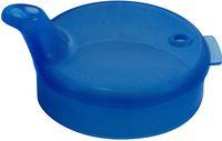 AMPRI-Hygiene, Einweg-Einmal-Schnabel-Becher, Oberteil, 4 x 4 mm, VE = 250 Stück, blau
