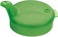 AMPRI-Hygiene, Einweg-Einmal-Schnabel-Becher, Oberteil, 4 x 4 mm, VE = 250 Stück, grün