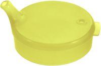 AMPRI-Hygiene, Einweg-Einmal-Schnabel-Becher, Oberteil, 8 x 8 mm, VE = 250 Stück, gelb