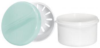 AMPRI-Hygiene, PE-Zahn-Prothesen-Becher, 250 ml, VE = 20 Stück, grün