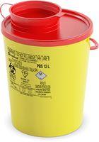 AMPRI-Hygiene, Kanülen-Entsorgungs-Box, Serie PBS, 12,0 Liter, VE = 25 Stück