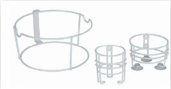 AMPRI-Hygiene, Halterung für Kanülen-Entsorgungs-Box, Serie PBS, 1,5 und 2,0 Liter, VE = 10 Stück